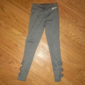 Justice Bottoms - Girls Justice Gray Legging Size 6/7